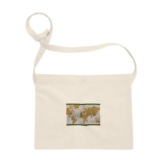 レトロな世界地図 Sacoches