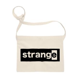 strange world's end strange02サコッシュ淡色/濃色 Sacoches