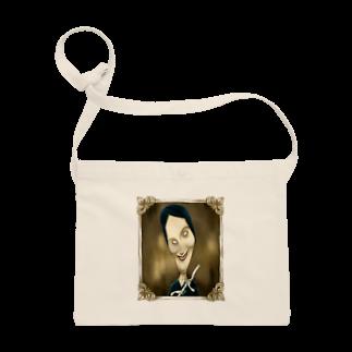 堀越ヨッシーのお店(SUZURI支店)の笛を吹く女性 Sacoches