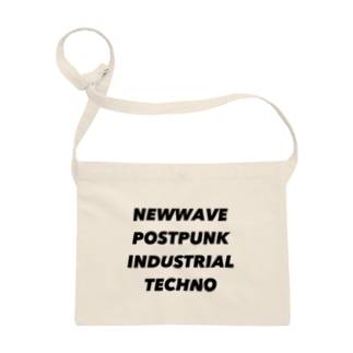NEWWAVE POSTPUNK INDUSTRIAL TECHNO Sacoches