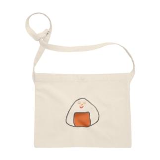 Orange rice ball boy Sacoches