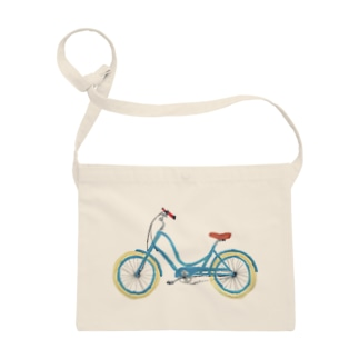 mi. (エムアイドット)の水色の自転車 Sacoches