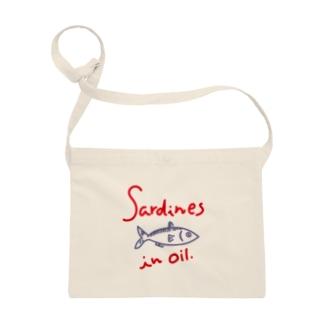 オイルサーディン  sardines in oil Sacoches
