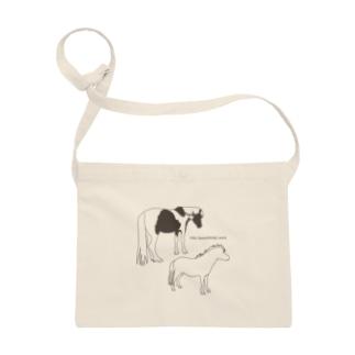 馬と編集デザインの【馬】JOJO & MILLY Sacoches