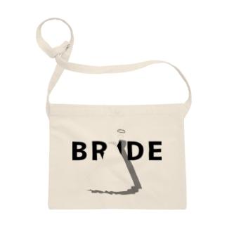ペア(BRIDE)ドレス_白_WB Sacoche
