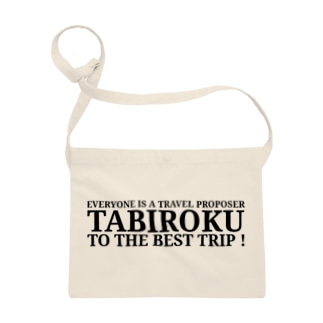 TABIROKU STOREの旅録 英語ロゴ Sacoches