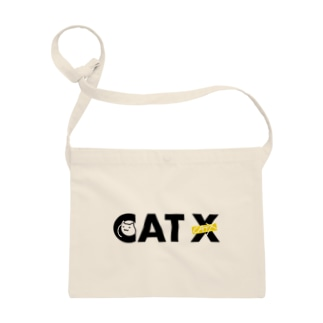 CAT X ロゴ【Black】 Sacoches