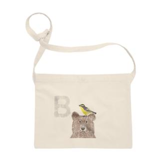 『B』Bird,Bear Sacoches
