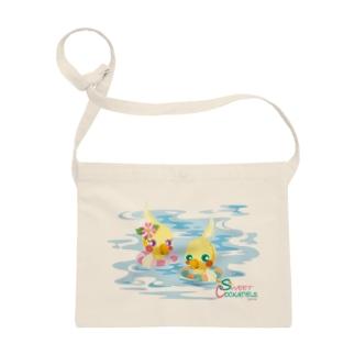 Sweet Cockatiels/浮き輪で海水浴 Sacoches