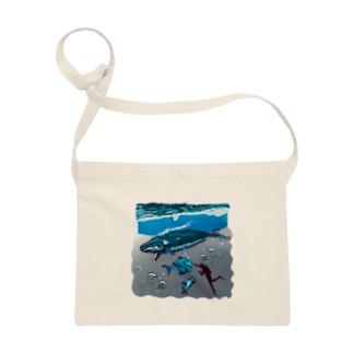 油絵描きの小物売り場のスカンジナビアの海のお散歩 Sacoches