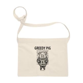 GREEDY PIG サコッシュ