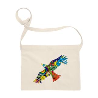 虹色の飛ぶ鳥 Sacoches