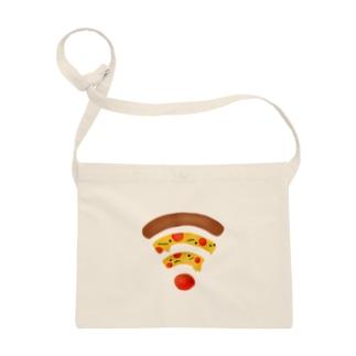 ペパロニピザのWiFi Sacoches