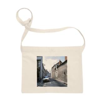 フランス:ブロワの風景 France: view of Blois Sacoches