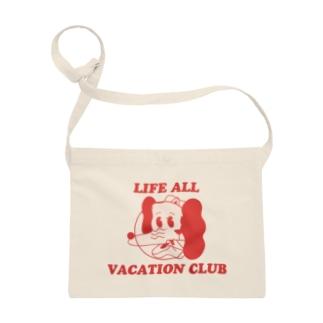 uhei art works.のいぬねこちゃん/LIFE ALL VACATION CLUB Sacoches