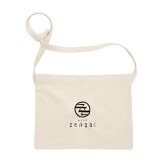 蒲生茶廊zenzaiロゴ Sacoches