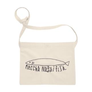 Meccha Nagai Fish めっちゃながいふいっしゅ Sacoches
