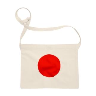 日本代表シンボル「日の丸」 サコッシュ