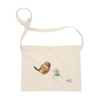 -MOZU No.3- Bird call  Sacoches