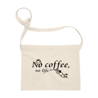 No coffee,no life.SA1 Sacoches