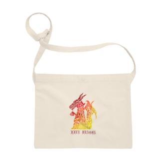 ドラゴン/ファイヤー Sacoches