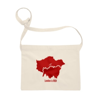 Design UKのLondon is RED Sacoches