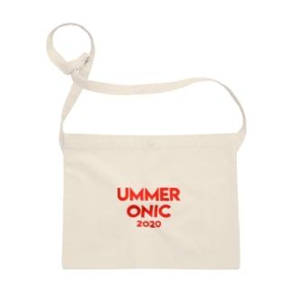 UMMER ONIC (赤ロゴ) Sacoches