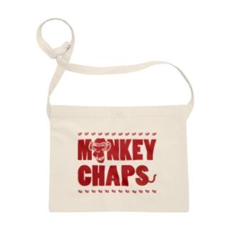 MONKEY CHAPS ロゴ Sacoches