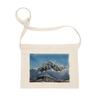 雲海の劔岳 Sacoches
