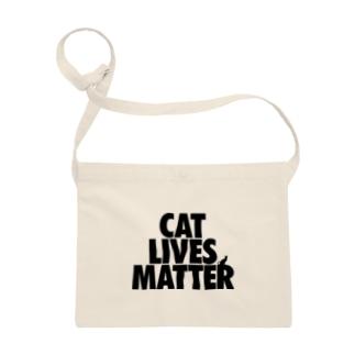 CAT LIVES MATTER Sacoches