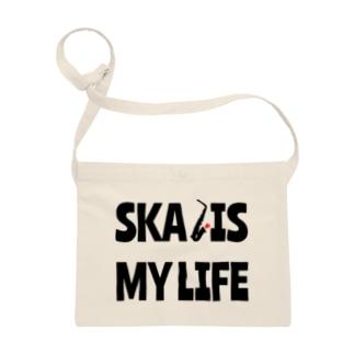 SKA IS MY LIFE(黒) Sacoches
