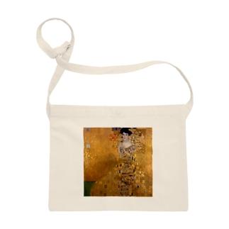 グスタフ・クリムト(Gustav Klimt) / 『アデーレ・ブロッホ=バウアーの肖像 I』(1907年) Sacoches