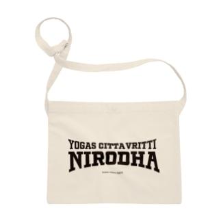 NIRODHA 2021SS SPORTY LOGO Sacoche