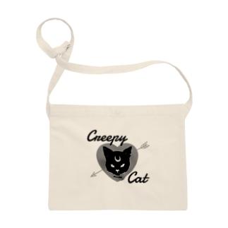 【MOON SIDE】 Creepy Cat #Black Ver.1 Sacoches