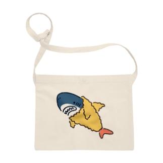 サメは海老天ごっこがお好き Sacoches