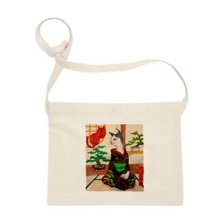 盆栽美人猫 Sacoches