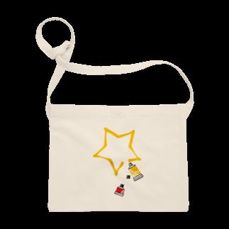 LINOS-Tの絵の具チューブサコッシュ