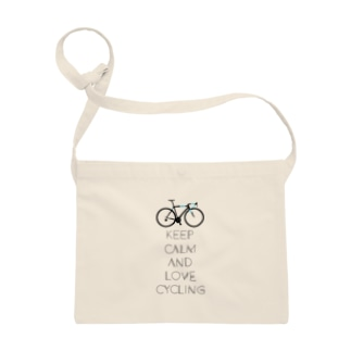 Keep calm and love cycling Sacoches