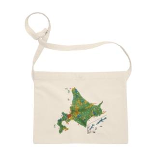 北海道179市町村地図 Sacoches