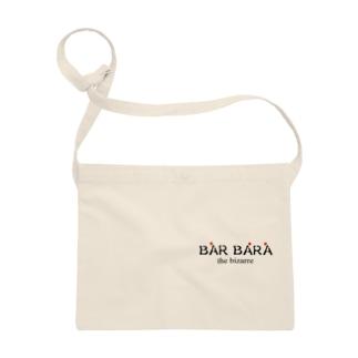 京都バルバラのグッズだよのバルバラロゴシリーズ Sacoche