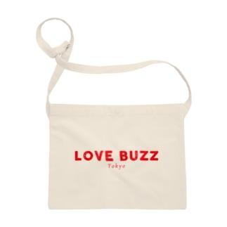 LOVEBUZZ logo RED Sacoche