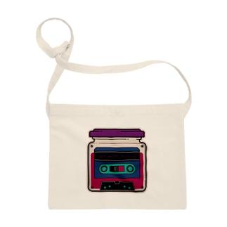 Cassette Jam (retro) サコッシュ