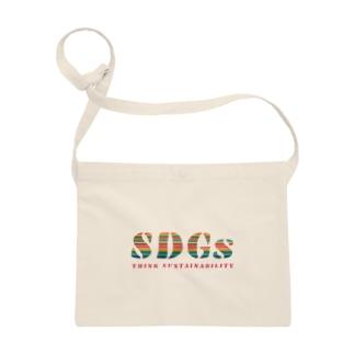 SDGs - think sustainability Sacoches