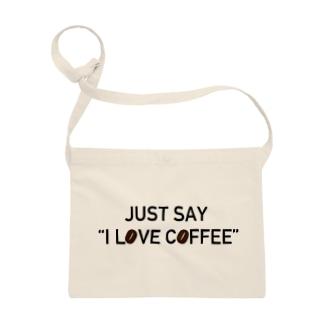 ただ、コーヒーが好きなだけの人 サコッシュ
