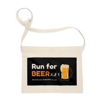 Run for BEER -black- Sacoche
