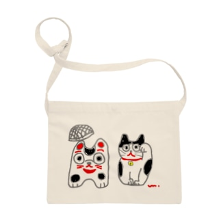 籠犬と招き猫 Sacoche