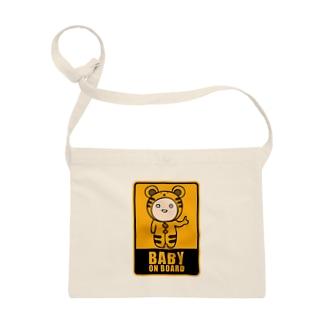 BABY on Board (トラ) Sacoches