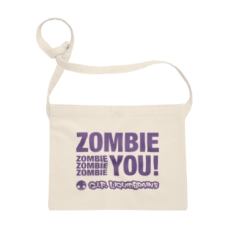 Zombie You!(purple print) Sacoches