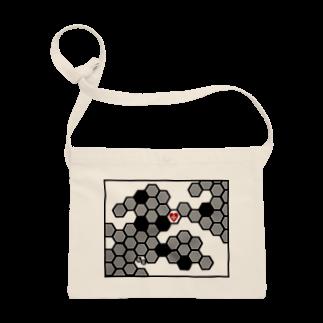 ESCHATOLOGYの兎蜂の巣。 サコッシュ