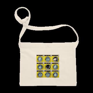 TOMOKUNIのコインランドリー Coin laundry【3×3】 Sacoches